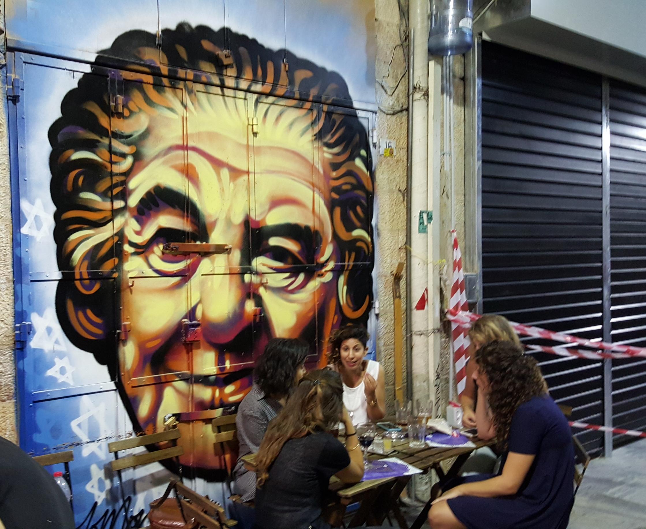 Grafiti Golda Meir