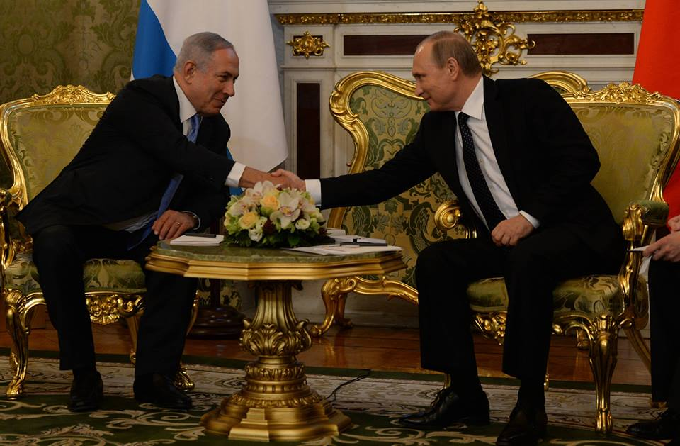 Netanyahu dialoga con Putin sobre la paz en Oriente Medio