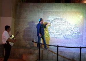 Pini Rafael el guía y Yehuda