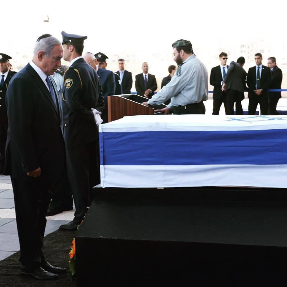Obama llega a Tel Aviv para asistir al funeral de Simón Peres