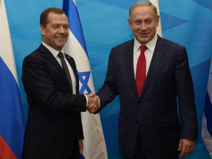 Netanyahu a Medvedev: Israel no permitirá que Irán tenga presencia militar en Siria