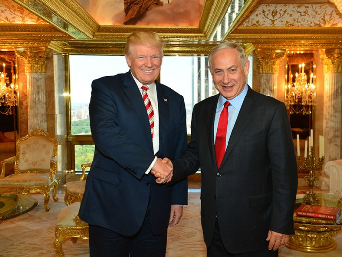 """Netanyahu: Trump es """"un verdadero amigo de Israel"""""""