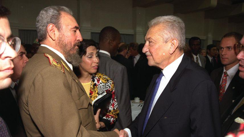 La complicada relación de Fidel Castro con los judíos e Israel