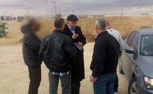 Ghattas interpelado al salir de la carcel Foto: Canal 2