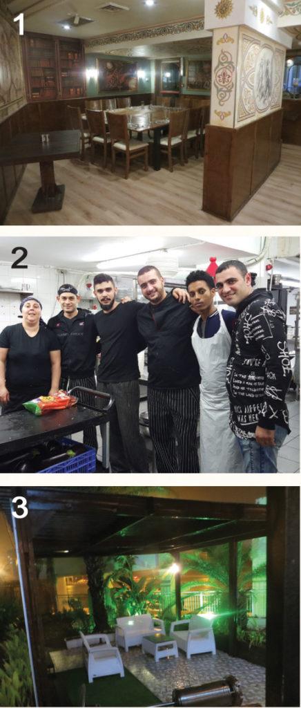 Foto 2: Cabiló, el Chef y su equipo.