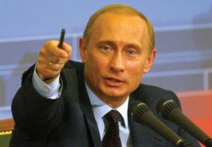 El presidente Vladimir Putin