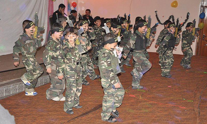 Niños gaziatíes - Jihad Islámica