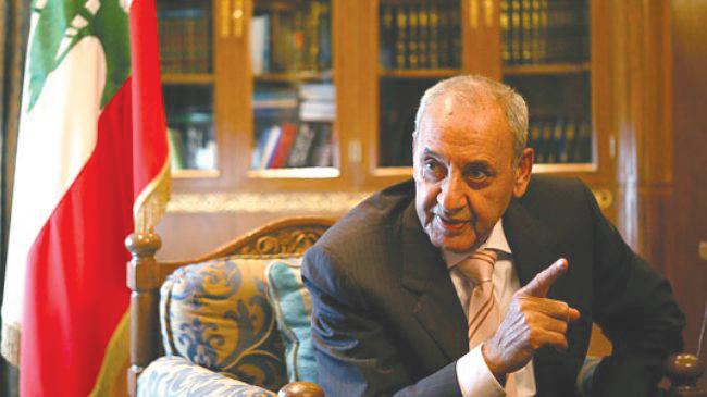 Presidente del Parlamento Libanés, Nabih Berri