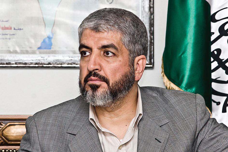 Líder de Hamás, Khaled Mashaal, con residencia en Qatar