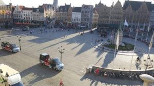 Panorámica de la plaza desde el Historium