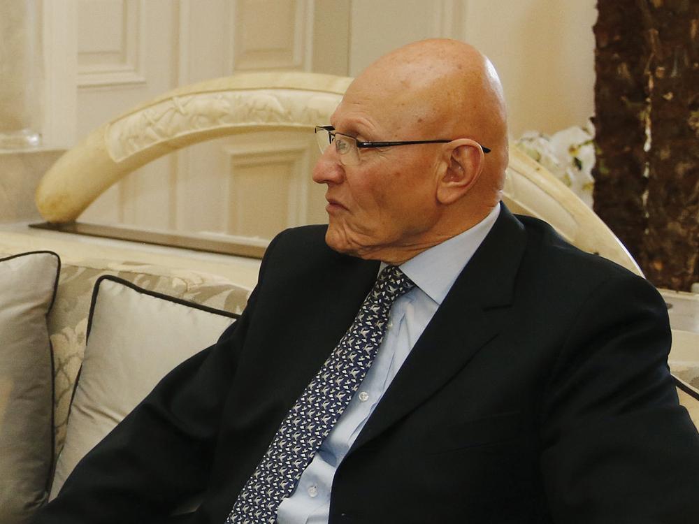 Primer Ministro Tammam Salam