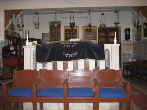 Sinagoga de Marrakech Foto: Vysotsky Wikimedia CC BY-SA 3.0
