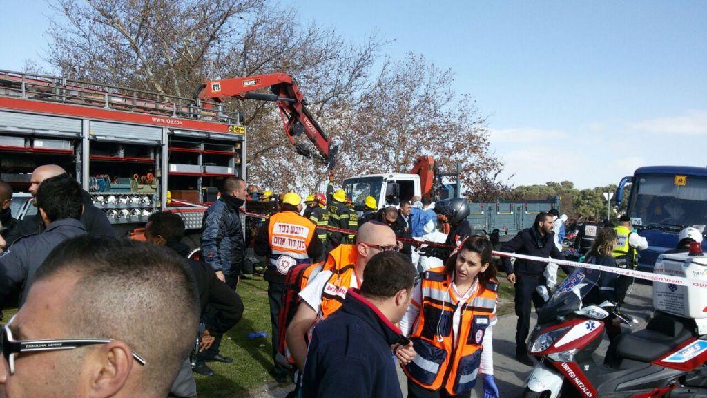 Atentado terrorista con un camión en Jerusalén: cuatro jóvenes asesinados