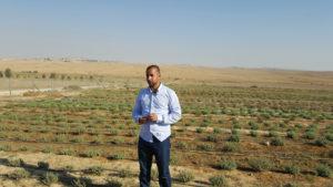 El director de Wadi Attir Proyecto de Agricultura Ecológica