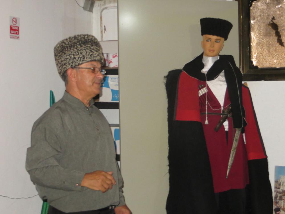 Shawk Hon en el Museo Rehania