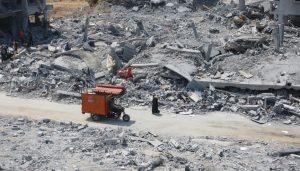Beit Hanoun edificios destruidos