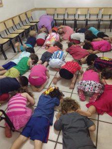 Niños israelíes en el centro de Israel