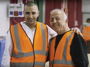 Mahmoud, palestino de Shuafat y Yaacov, israelí de Beer Sheba