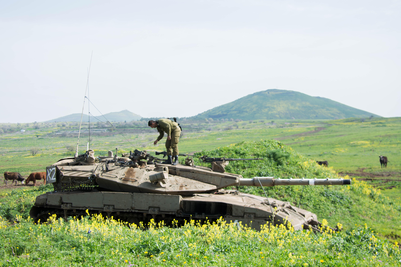 Dos proyectiles procedentes de Siria impactan en los Altos del Golán