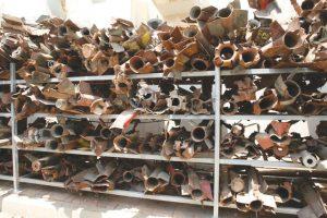 Qassam lanzados desde la franja de Gaza en la Operación Plomo Fundido