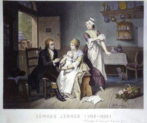 Edward Jenner, realizó las primeras inoculaciones.