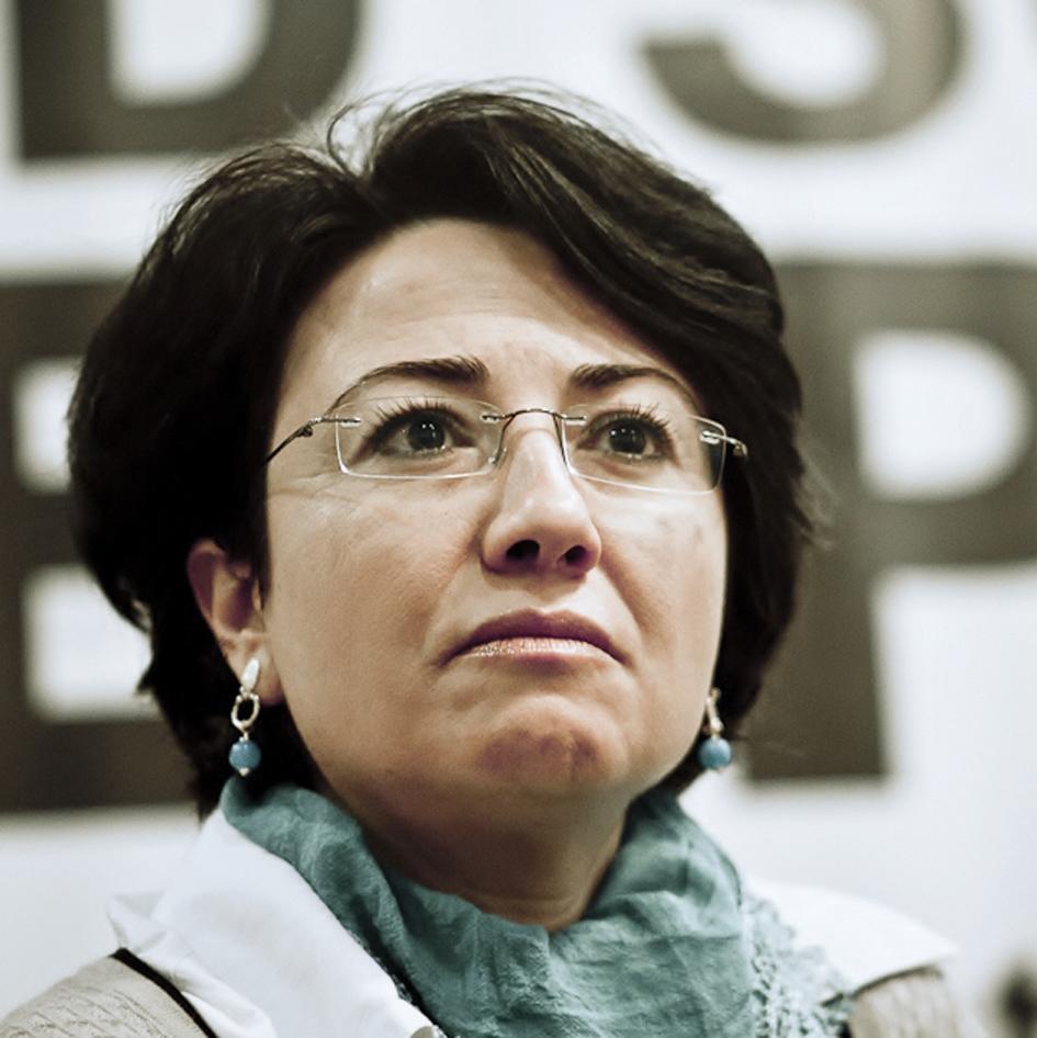 La diputada árabe, Hanin Zoabi