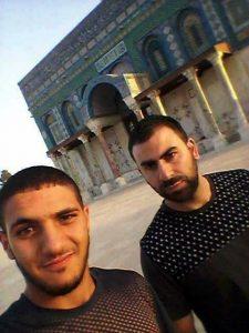 Terroristas arabes israelies Foto: Facebook