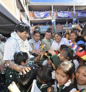 Evo Morales Foto: Ministerio de la Presidencia de Bolivia Freddy Zarco