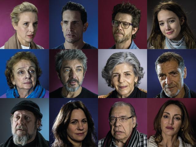 60 actores se reunieron para homenajear a las víctimas del atentado — AMIA