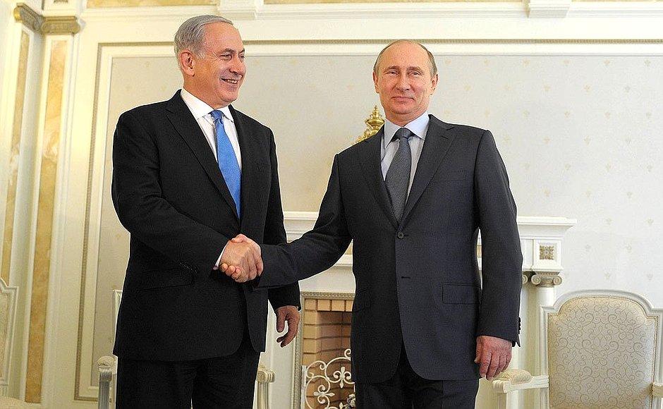 """Netanyahu y Putin dialogaron: """"Israel presiona para una zona desmilitarizada en el sur de Siria"""""""