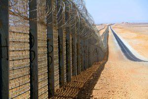 Valla fronteriza entre Israel y Egipto Foto: Idobi Wikipedia CC BY-SA 3.0