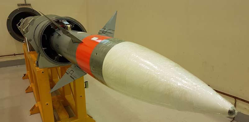 IAI entrega el primer misil LRSAM a la marina india