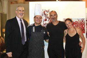 David Cohen, Chef Alón Hirtenstein, Dan Lev e Ilit Engel