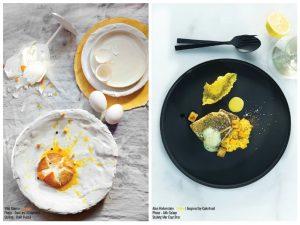 Todo amarillo: (Foto y plato realizado por el Chef)