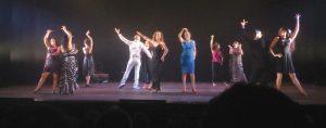 Bailarinas y ex alumnas de Silvia