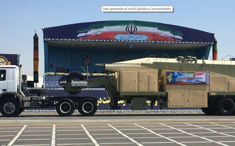 Israel: la prueba del misil iraní es una provocación y una amenaza para el mundo