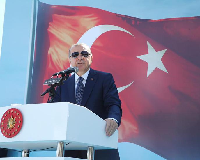 Erdogan acusa al Mossad por el referéndum de los kurdos