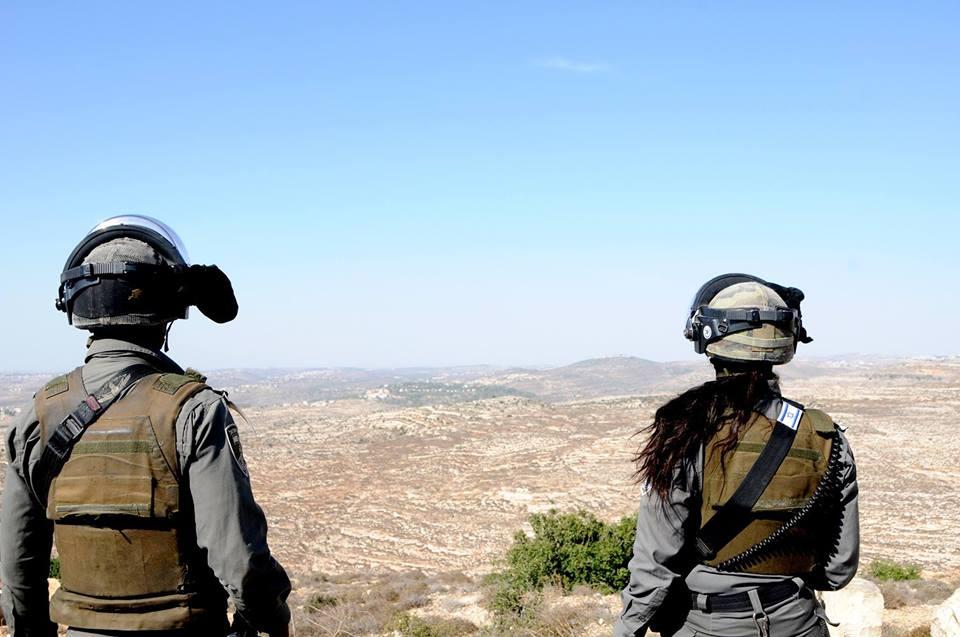 Fuerzas de seguridad israelíes comienzan el desalojo de un asentamiento ilegal en Cisjordania
