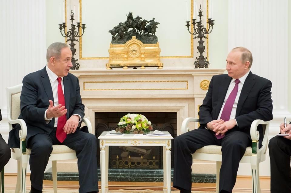 """Rusia responde a Netanyahu: la presencia de Irán en Siria es """"legítima"""""""