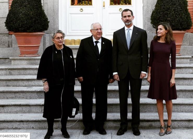 Felipe VI desea para Israel y los palestinos paz y seguridad con dos Estados