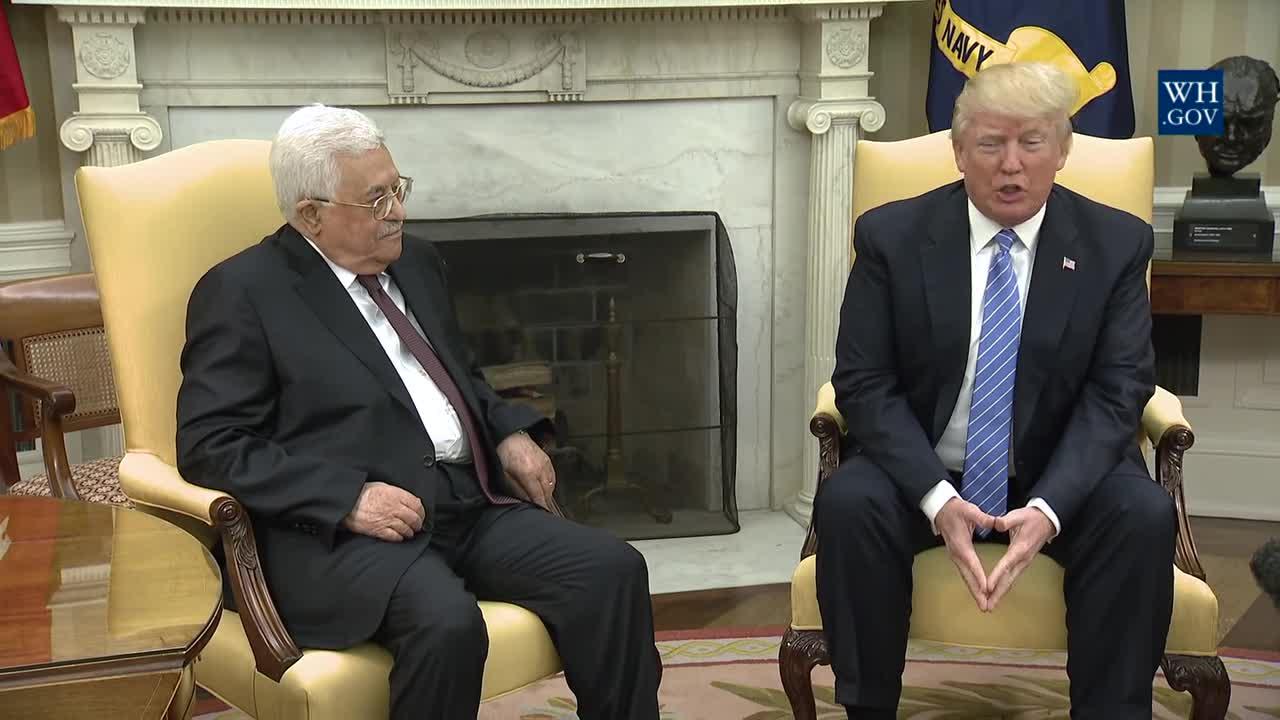 Trump llama a Abbás para comunicar su intención de trasladar la embajada a Jerusalén