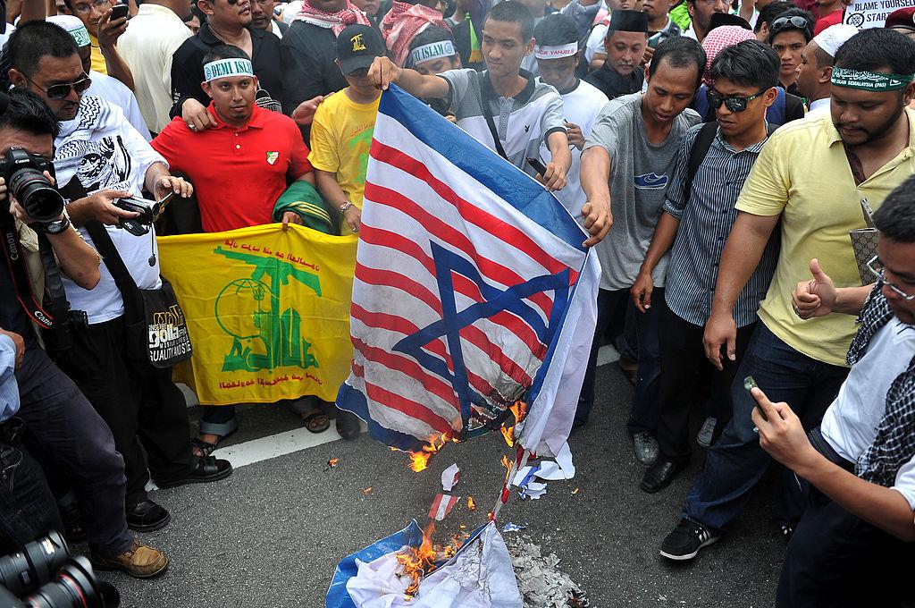 La ola de protestas sobre Jerusalén llega a Asia