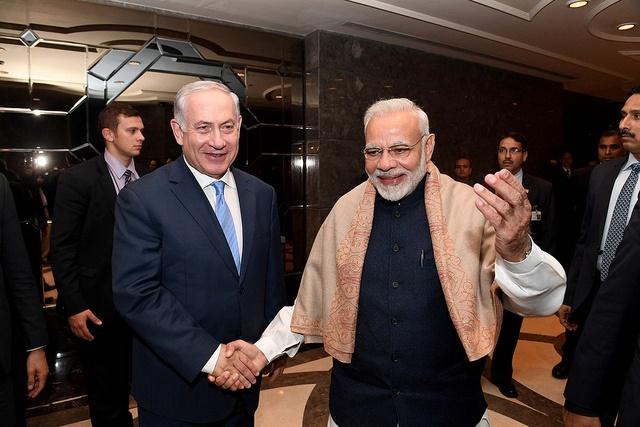Netanyahu y Modi firman nueve acuerdos de cooperación entre India e Israel