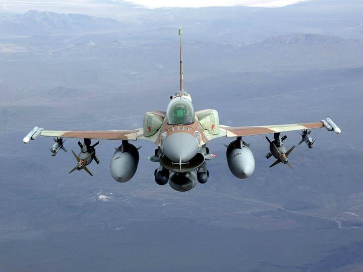Aviación de Israel bombardea con misiles la Franja de Gaza