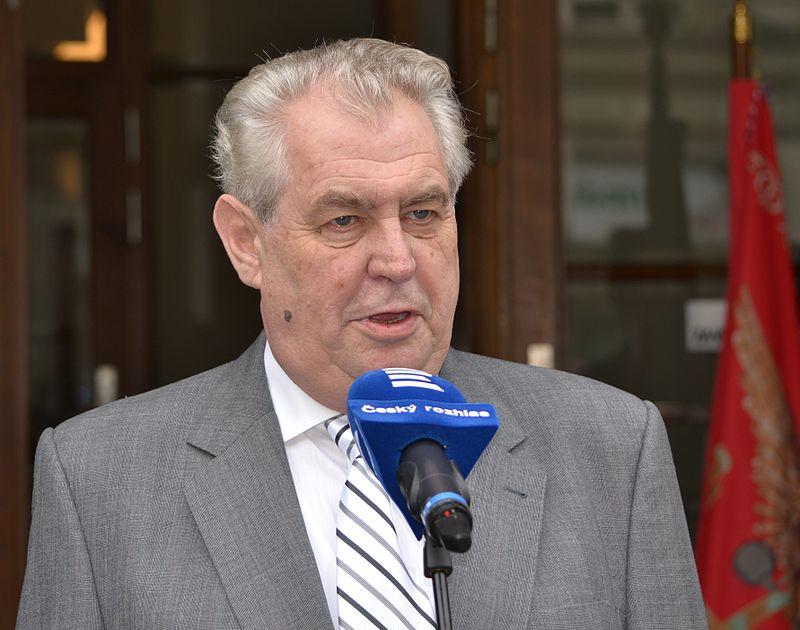 Se inician las elecciones presidenciales en la República Checa