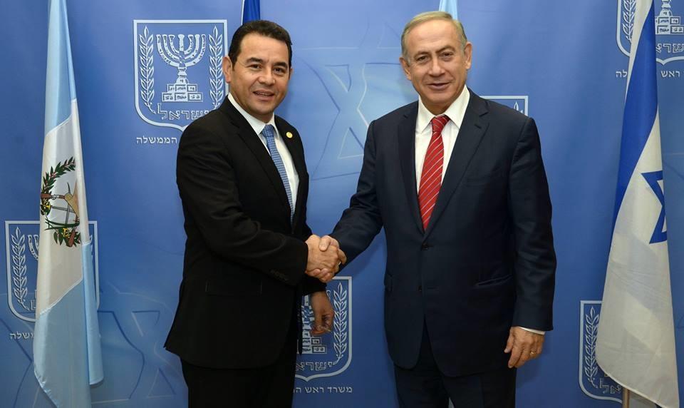 Guatemala recibe la más alta distinción por decir la verdad sobre Israel