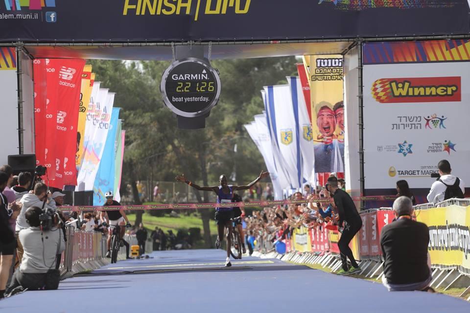 35.000 corredores participaron en el mayor maratón de Jerusalén