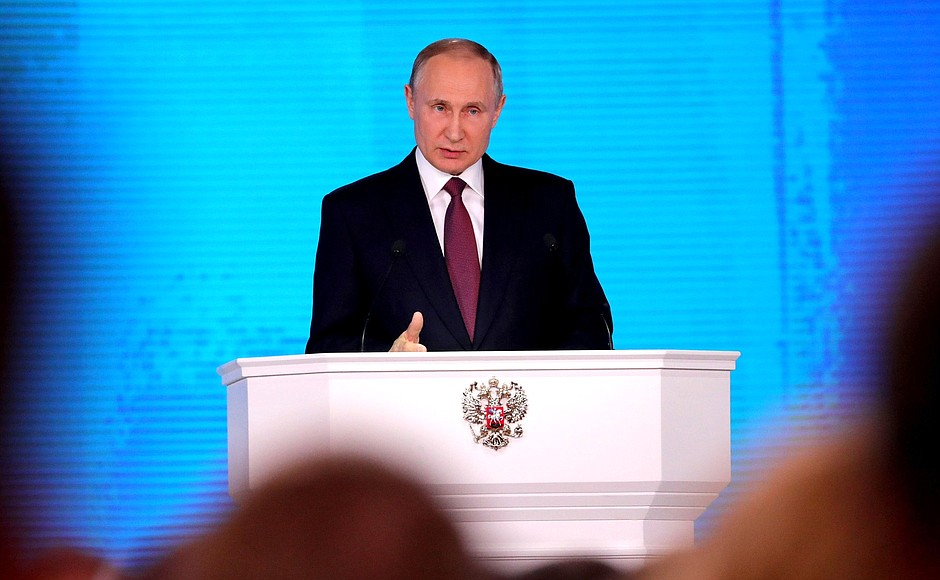 Putin: Rusia desarrolla un misil nuclear que vuelve inútil el escudo antimisiles