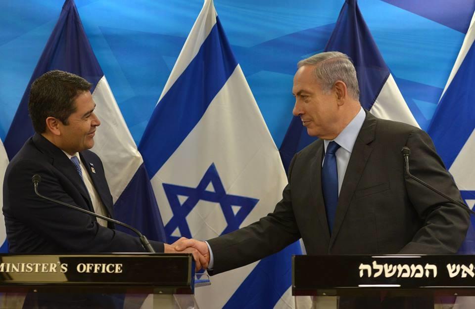 Congreso de Honduras aprueba trasladar su embajada israelí a Jerusalén