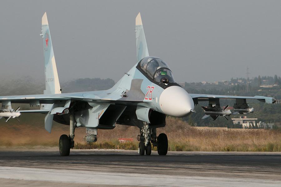 Un caza ruso cae al mar frente a la costa siria